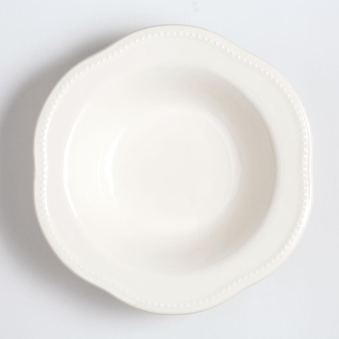 パスタプレート / 25cm・ホワイト [ラ・メゾン オリジナル ]