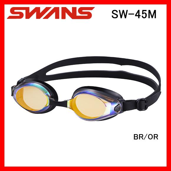 SWANS スワンズ SW45M フィットネス向けスイムゴーグル 水中眼鏡 水泳 競泳 プール