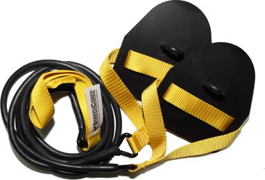 ストレッチコード StrechCordz パドル付 PR76200 水泳 競泳 トレーニング ドライランド 陸トレ