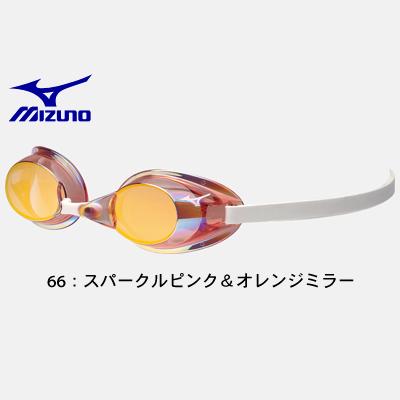 MIZUNO ミズノ 85YA751 ノンクッション スイムゴーグル ミラーレンズ  水中眼鏡 水泳 競泳 プール