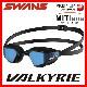 SWANS スワンズ VALKYRIE SR72MMITPAF クッション付きスイムゴーグル ミラーレンズ  水中眼鏡 水泳 競泳 プール