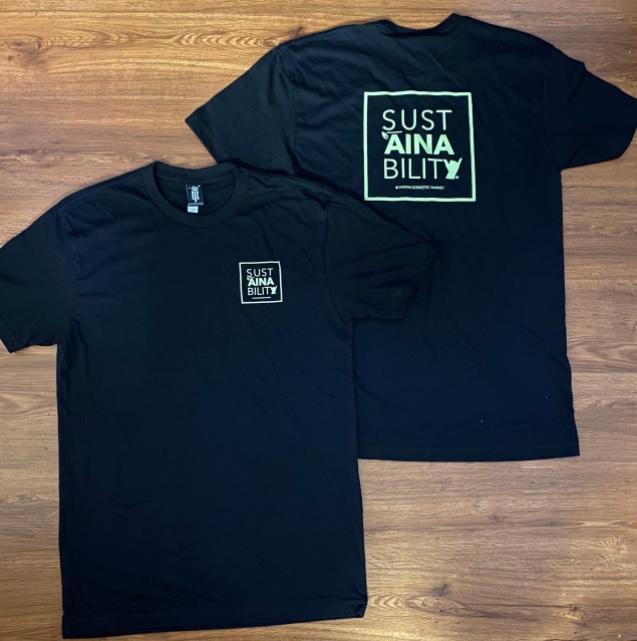 ハワイ HDM/Hawaii Domestic Market/ハワイドメスティックマーケット SUSTAINABILITY Tシャツ