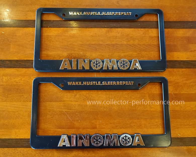 ハワイ AINOMOA ライセンスプレートフレーム ナンバーフレーム