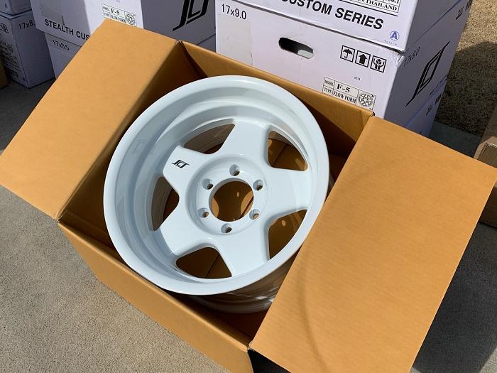 (限定品!在庫あり!)SCS(Stealth Custom Series Wheels/ステルスカスタムシリーズ) F5 Limited Edition ホイール Gloss White グロスホワイト