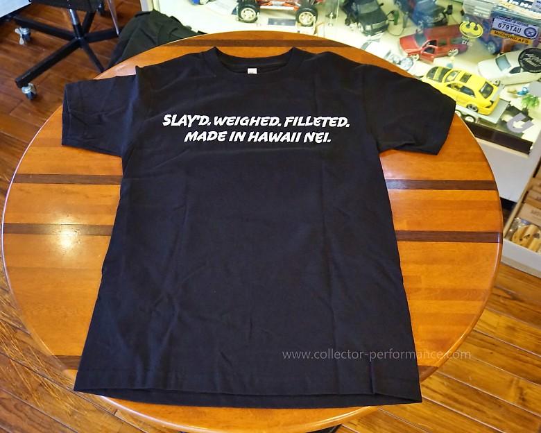 ハワイ Ahi Assassins Fish Co Tシャツ