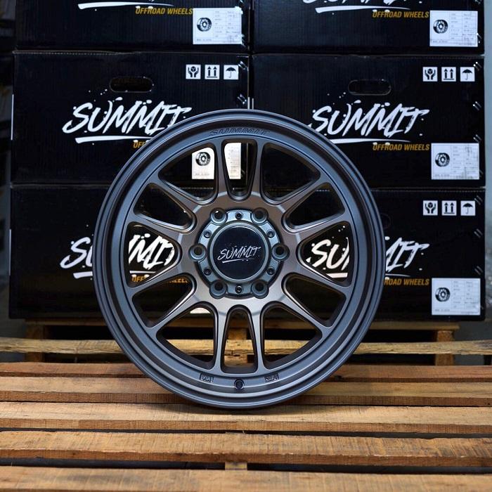 (取り寄せ対応!) Summit Off-Road Wheels サミット オフロード RAPTOR  ホイール (ブロンズ・ガンメタ・ブラック)