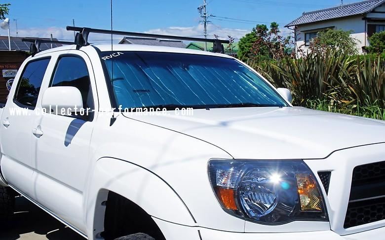 (取り寄せ対応!)2013-2019 フロンティア HEATSHIELD 車種専用設計 サンシェード(日よけ)