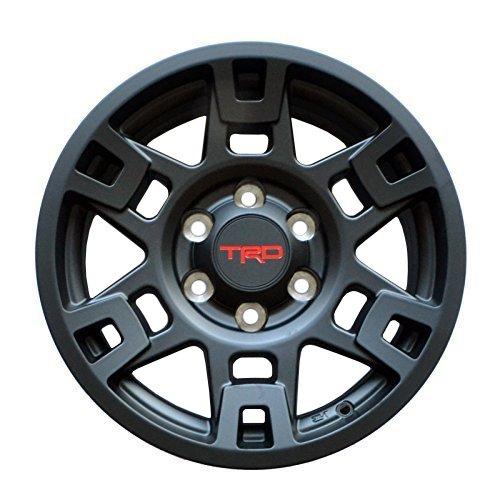 (取り寄せ対応!)USトヨタ純正 TRD PROシリーズ 17インチ 純正ホイール 4本SET (マットブラック)