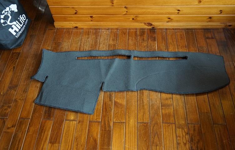 (取り寄せ対応!) 03-09 ハイラックスサーフ(215) ダッシュマット/ダッシュカバー チャコール Made in USA