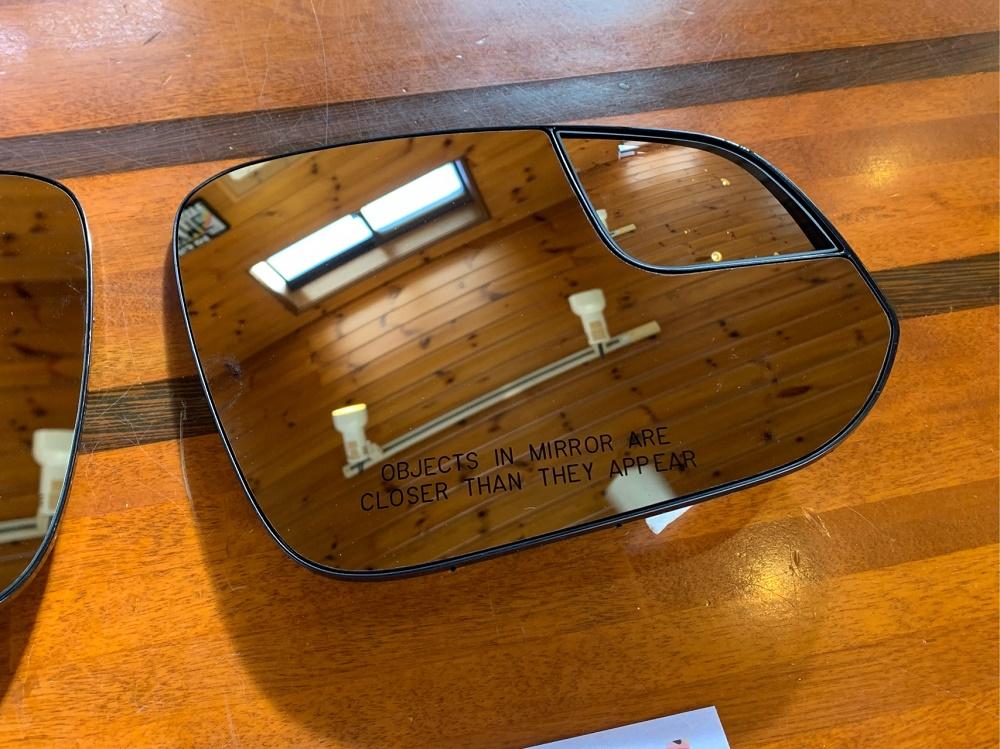 (取寄せ対応!) 14-21 4ランナー USトヨタ純正 ブラインドスポットミラー レンズセット(ヒーター付)