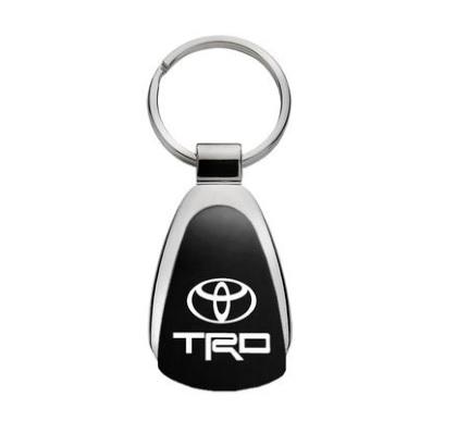 (在庫有り!)北米トヨタ USトヨタ  TRD キーリング/キーホルダー(マットブラック)