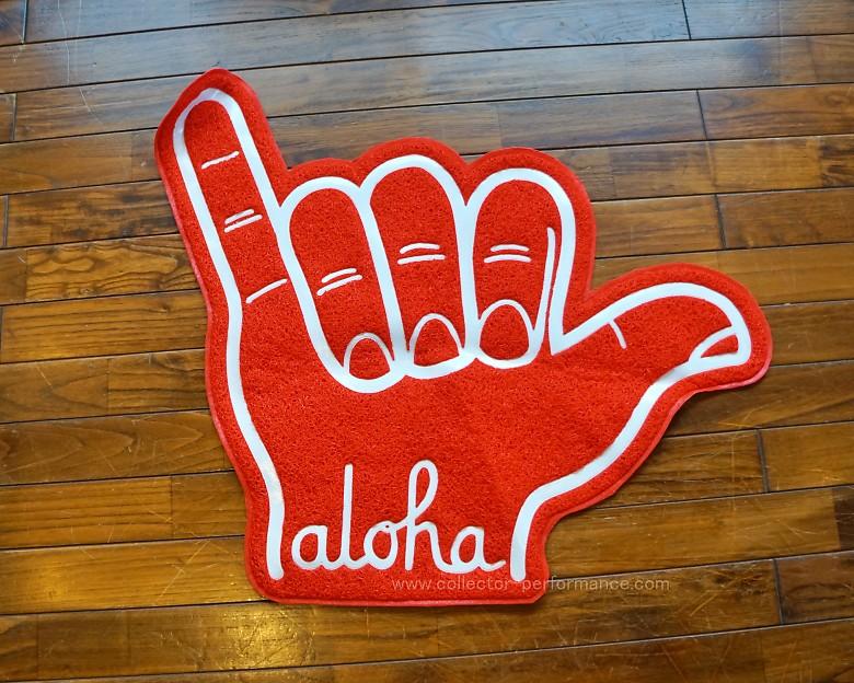 (SALE!)ハワイ ALOHA ARMY/アロハアーミー aloha フロアマット