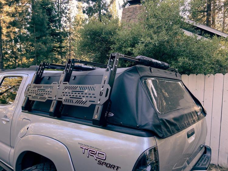 (取り寄せ対応!)2005-2021 タコマ Softopper Compatible Truss Bed Rack ソフトキャンパーシェル用 ベッドラック