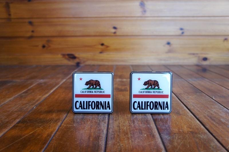 (1 1/4インチ在庫有り!)California Flag カリフォルニア フラッグ  ヒッチカバー