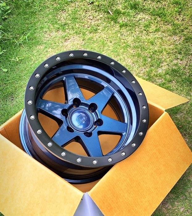 (限定品!在庫あり!)SCS(Stealth Custom Series Wheels/ステルスカスタムシリーズ) BR6 Limited Edition ホイール Stealth Blue ステルスブルー ※送料無料!