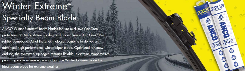(在庫有り!即納!)10-20 4ランナー ANCO Winter Extreme ウインターワイパーブレード/スノーワイパーブレード 1台分
