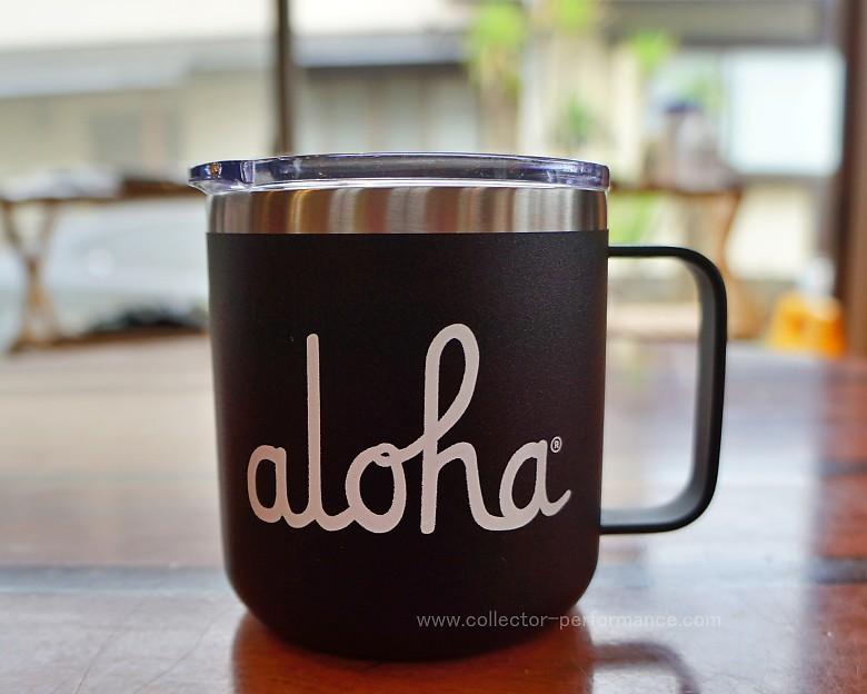 ハワイ ALOHA ARMY/アロハアーミー aloha キャンパー マグカップ