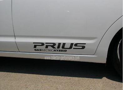 2010- プリウス ハイブリッド・デカールSET