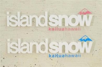 ハワイ IslandSnow CORPO II ステッカー