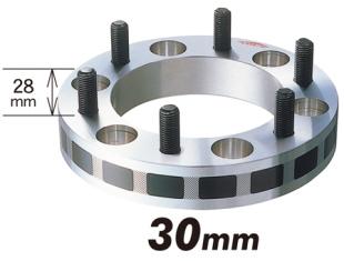 (弊社お勧め品)ワイドトレッドスペーサー 6穴 P.C.D139.7/P1.5 30mm