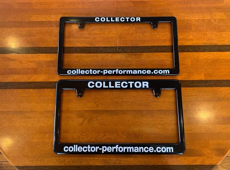 (新商品!在庫あり!)COLLECTOR オリジナル ライセンスプレートフレーム / ナンバーフレーム タイプ2(日本サイズ)