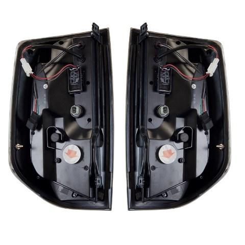 (取り寄せ対応)14-タンドラ  ブラックスモーク LEDテールランプSET
