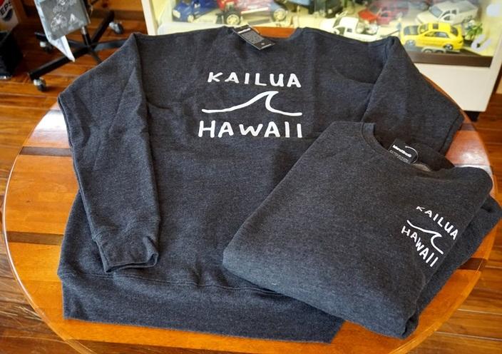 (Lのみ在庫あり)ハワイ IslandSnow/アイランドスノー Kai-Nalu KAILUA HAWAII カイルア スウェットシャツ/トレーナー