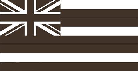 (在庫有り!即納!)2010-4Runner 4ランナー リアウインドウ Hawaii ハワイ フラッグ デカール 左右セット