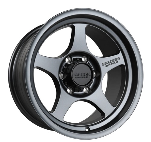 (9.0 -12 ガンメタ 在庫あり!) Falcon Off-Road Wheels ファルコン オフロード T2 ホイール (ブロンズ・ガンメタ・ブラック)