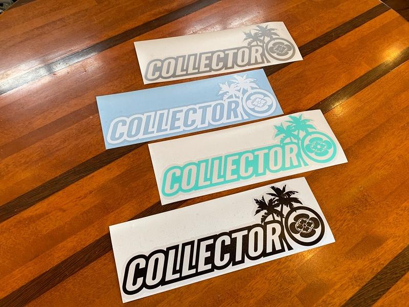 COLLECTOR コレクター オリジナル ステッカー 家紋