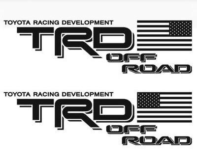 (取寄せ対応!)TRD OFF-ROAD USA FLAG ボディストライプ