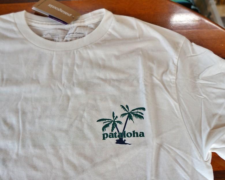 ハワイ限定 Patagonia/パタゴニア Pataloha/パタロハ ロゴTシャツ ホワイト