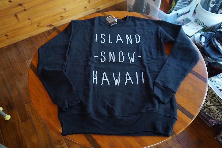 (XSのみ在庫あり)ハワイ IslandSnow/アイランドスノー スウェットシャツ/トレーナー