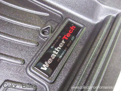 05- フロンティア キングキャブ用 Weather Tech フロアライナーSET ブラック