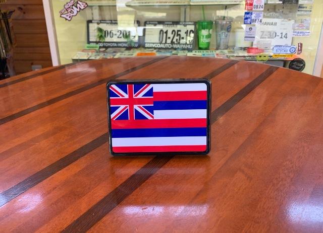Hawaii Flag ハワイ フラッグ  2インチ ヒッチカバー