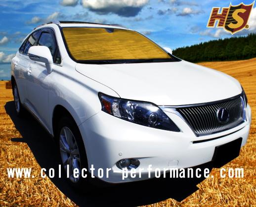 (シルバーのみ在庫あり!)2020- 4ランナー HEATSHIELD 車種専用設計 サンシェード(日よけ)