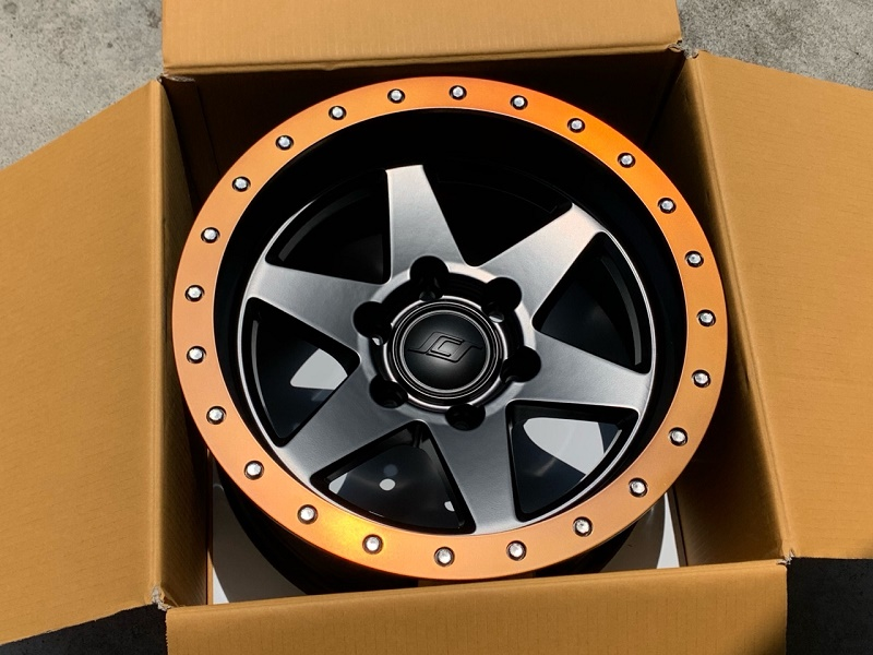 (限定品に付き要問合せ!)SCS(Stealth Custom Series Wheels/ステルスカスタムシリーズ) BR6 Limited Edition ホイール Matte Jet Black w/Blaze Bronze Lip