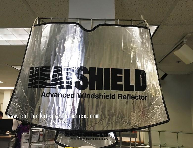 (ゴールドのみ在庫あり!シルバー取り寄せ!)2010-2019 4ランナー HEATSHIELD 車種専用設計 サンシェード(日よけ)
