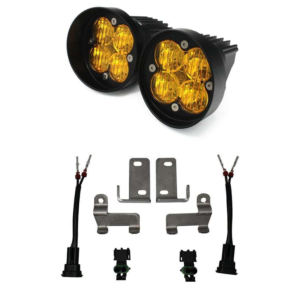 (在庫あり!) Baja Designs バハ デザイン Squadron Sport LED フォグライト キット(アンバー)