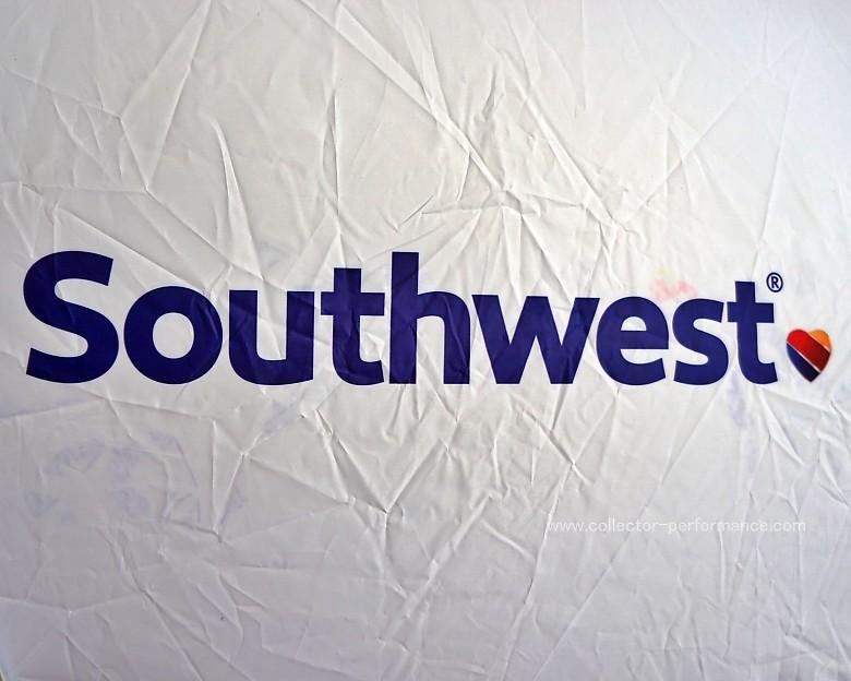 Southwest/サウスウエスト航空 ライセンスプレートフレーム サンシェード