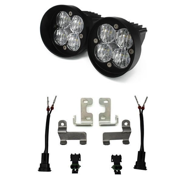 (取り寄せ対応!) Baja Designs バハ デザイン Squadron Sport LED フォグライト キット(クリアー)