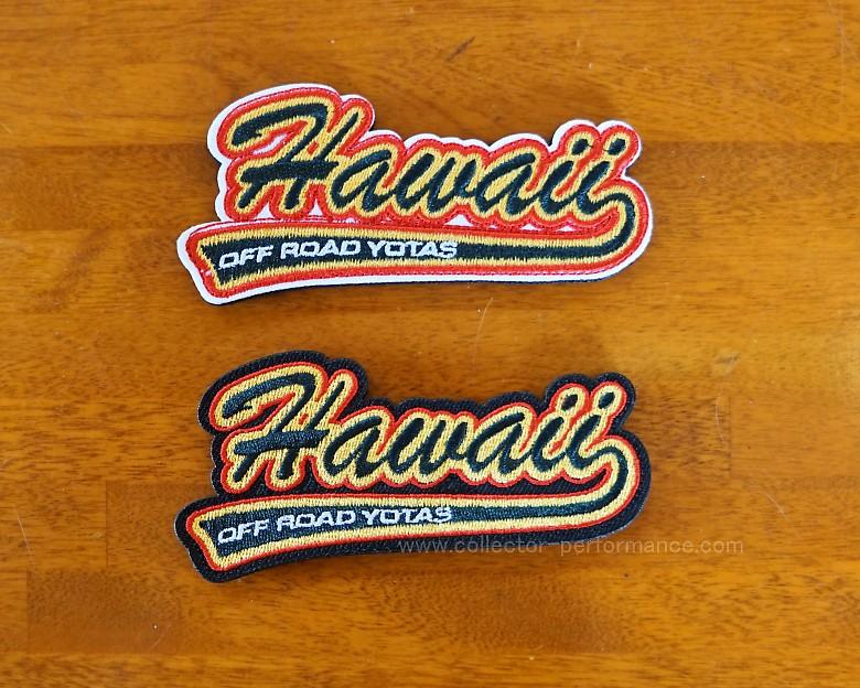 ハワイ HAWAII OFF ROAD YOTAS/ハワイオフロードヨタ RETRO HAWAII OFF ROAD パッチ