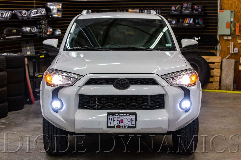 (取り寄せ対応!) 2010-4ランナー Diode Dynamics SS3 LED Fog LED フォグライト キット(クリアー/イエロー)