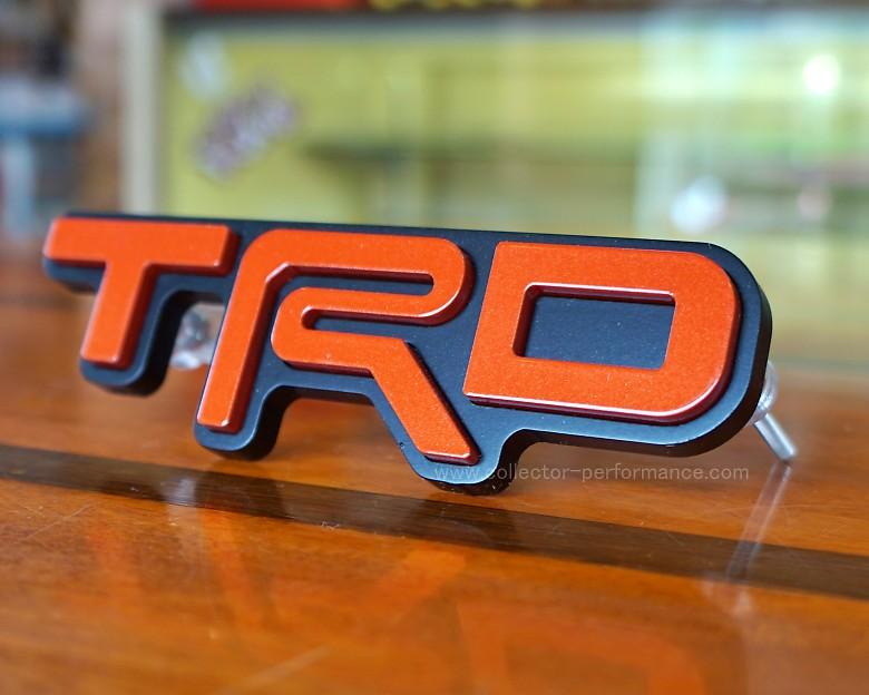 TACO VINYL/タコビニール TRD グリルバッジ インフェルノ