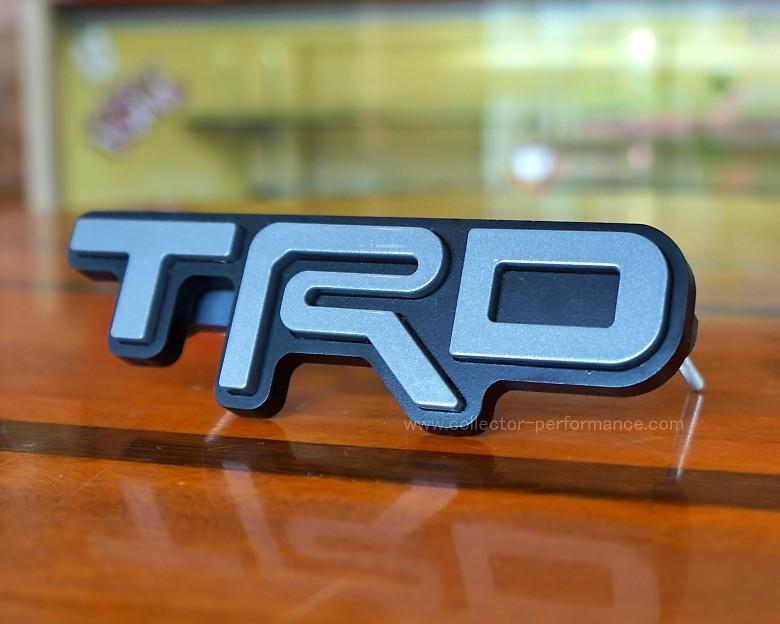 TACO VINYL/タコビニール TRD グリルバッジ セメント