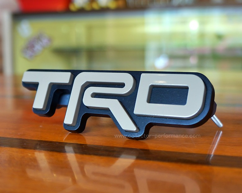 TACO VINYL/タコビニール TRD グリルバッジ クイックサンド
