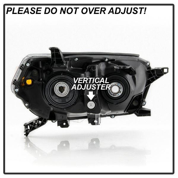 (取り寄せ対応!) 10-13 4ランナー ブラック ヘッドライトセット