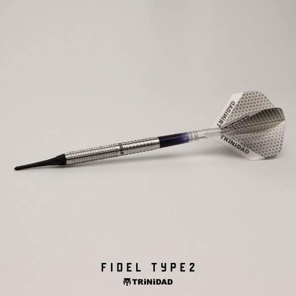 【チップ&送料無料】【トリニダード】Fidel Type2 フィデル2 | 2BA17.5g | フィデルコラールマルティン選手 | ダーツ バレル