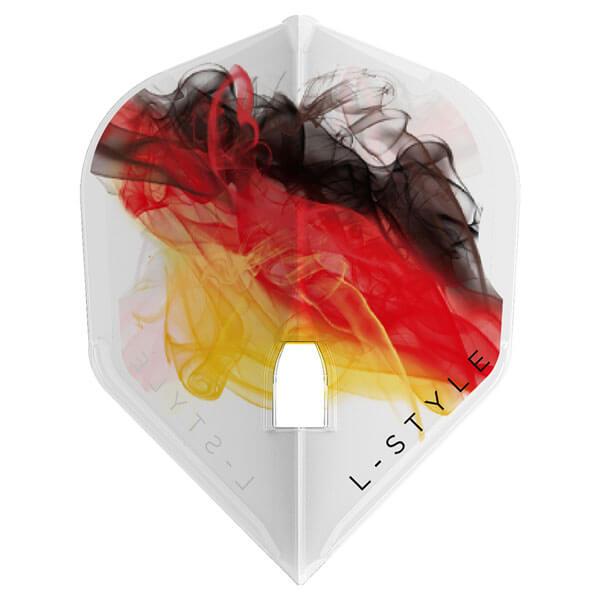 10/1発売【L-style エルスタイル】ガブリエル・クレメンス ver.3 シェイプ クリアホワイト ダーツ フライト