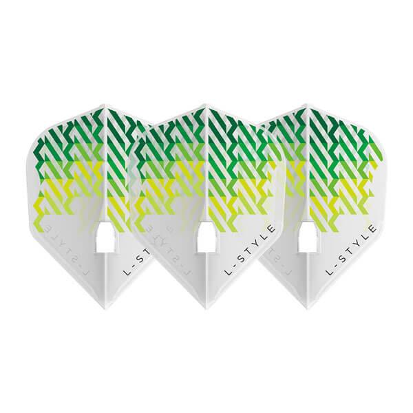 10/1発売【L-style エルスタイル】ニコ・クルツ ver.1 シェイプ クリアホワイト ダーツ フライト
